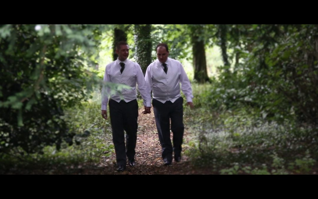 Samlesbury Hall wedding video // Ben + David